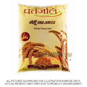 Patanjali Whole Wheat  Atta 9.07Kg