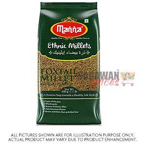 Manna Foxtail Millet (Thinai) 500Gm
