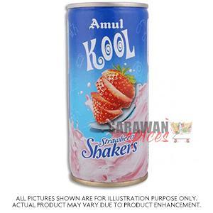 Amul Kool Strawberry Shakers 200Ml