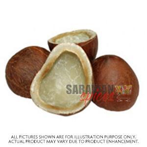 Chakra Dry Coconut Half Cut 250G