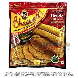 Bhagwati's Dudhi Thepla 8Pcs