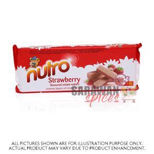 Nutro Strawberry Wafers 75G