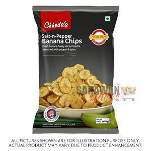 Chhedas Salt N Pepper Banana Chips 400G
