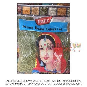 Pattu Mung Beans Celera 1Kg