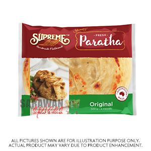 Supreme Plain Paratha 4Pcs