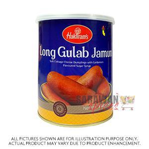 Haldiram (Del) Long Gulab Jamun 1Kg