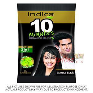 Indica Herbal Natural Black 10 Minute