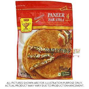 Deep Paneer Paratha 4Pcs