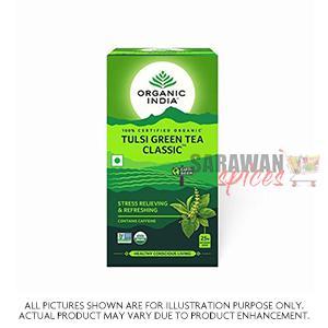 Organic India Tulsi Green Tea Classic 25Bag
