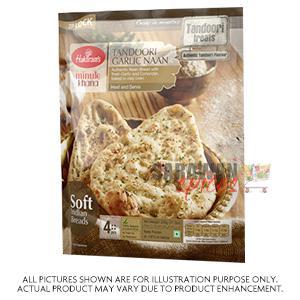 Haldiram(del) Gluten Free Naan 320G