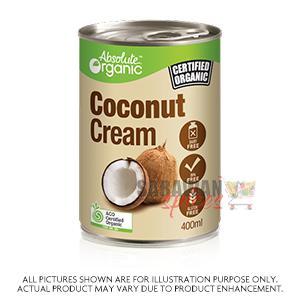 Organic Coconut Cream 400Ml