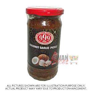 999 Coconut Garlic Pickle 300G