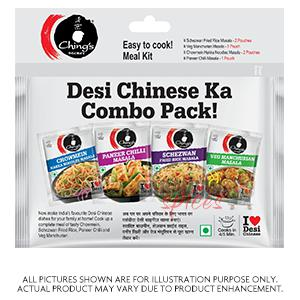 Chings Desi Chinese Combo Pac