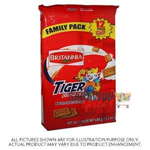 Britannia Tiger Value Pack 600G