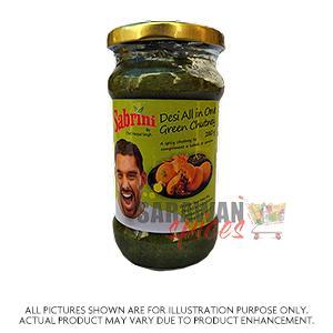 Sabrini Desi All In One Green Chutney 280G