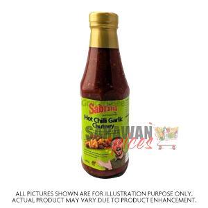 Sabrini Hot Chilli Garlic Chutney 290G