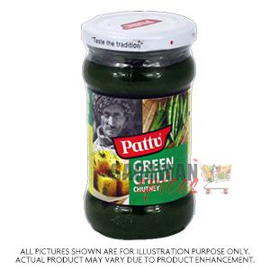Pattu Green Chilli Chutney 280G