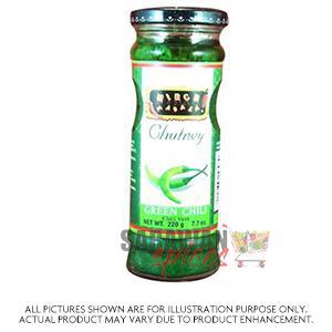 Mirch Green Chilli Chutney 220G