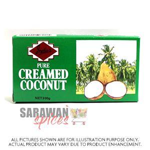Monika Cream Coconut Block 200G